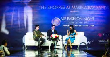 Global spotlight shines on VIP Fashion Night at The Shoppes at Marina Bay Sands Two incredible makeovers, fashion movers and shakers share stage via Google Hangout with international stylist