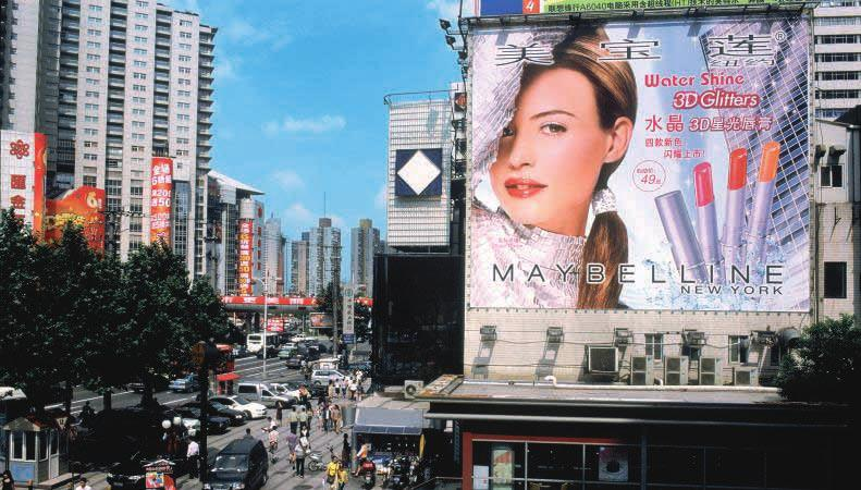 CHINA A Maybelline lipstick in the hand of every woman in China The sales of MAYBELLINE, which has been in China since 1998, really took off thanks to an ambitious and effective strategy quality for
