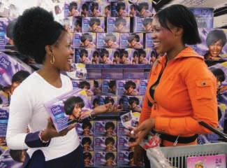 > GLOBAL MOMENTUM SOUTH AFRICA Success of Dark and Lovely hair relaxers from SoftSheen.
