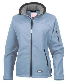 Hydrafort 5000 windproof and waterproof peached polyester fabric. Thermo- Guard insulation. Polyester lining.