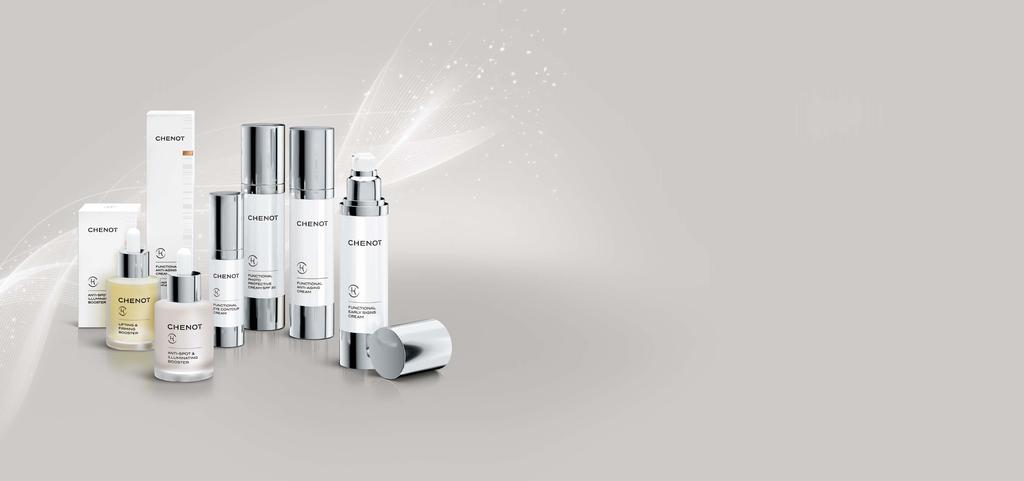 UNIQUE FUNCTIONALITY AND PERFORMANCE Combining the right cream for you with one or more boosters you create your personalised cosmetic treatment that acts deep into your skin and keeps your skin