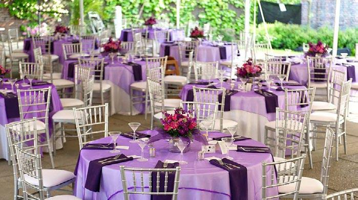 Company Overview 2 Company Overview Elegant Chair Cover Designs is a family-owned and locally operated event rental company offering high-quality and affordable rentals for weddings and special