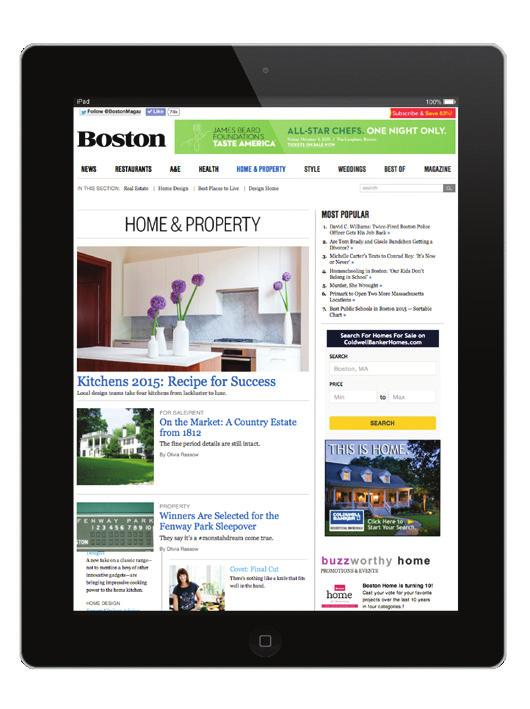 bostonmagazine.com DIGITAL CAPABILITIES Bostonmagazine.