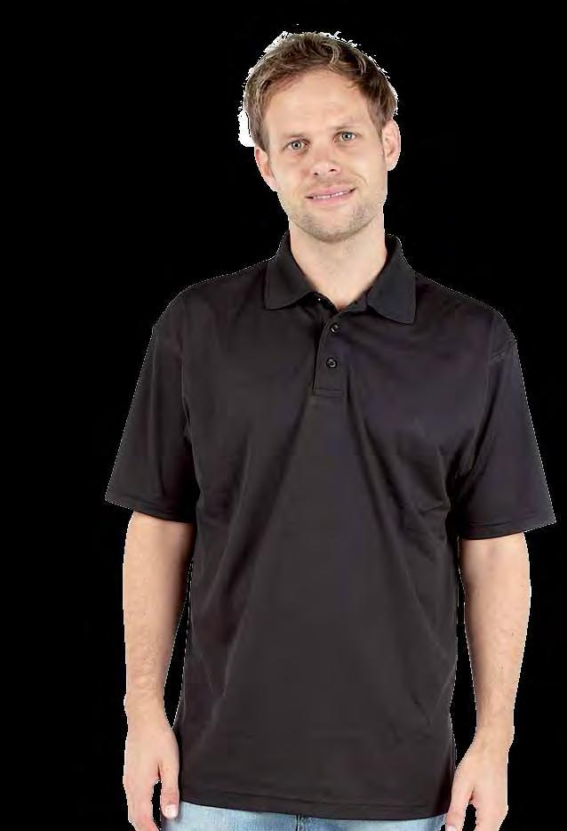RK160 Deluxe Wicking Polo Shirt Weight 170gsm 100% Polyester Twin needle stitching throughout Taped neck and shoulders Three button placket Quick dry and moisture wicking fabric Side vents Ideal for
