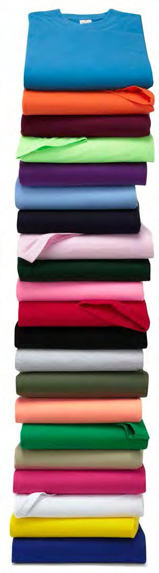 T-Shirts We have many styles of T-Shirts to choose from which are suitable for promotional to workwear use.
