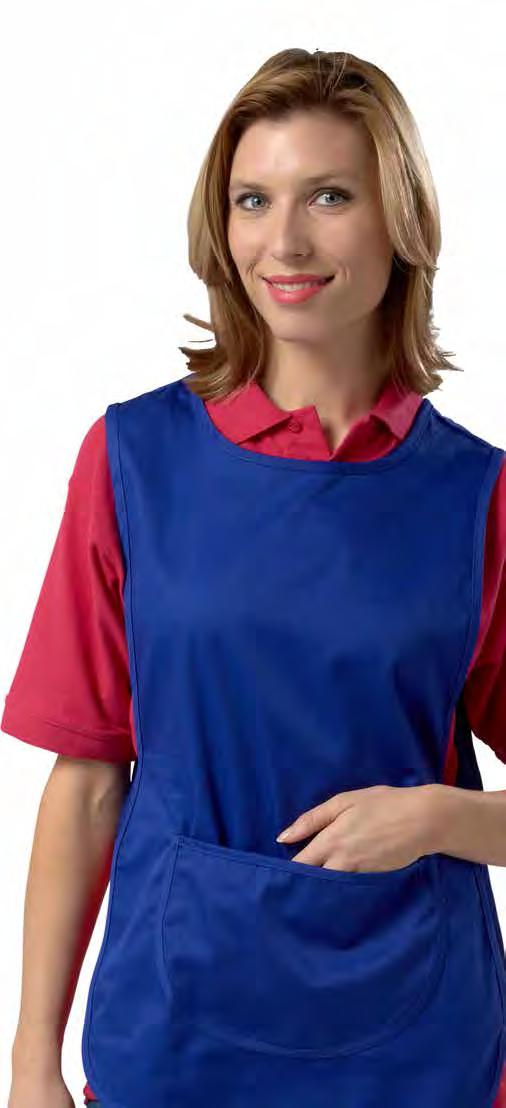 Aprons & Tabards For the hospitality and workwear market all