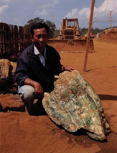 10% of the appraised value. Even though a boulder has been officially appraised, its purchase is inevitably a gamble for the trader. Types of Jadeite Rough.