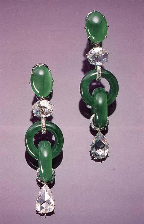 C-Jade, jadeite that has been artificially stained or dyed, also has a long history.