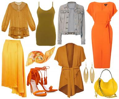 Pumpkin, Orange & Marigold