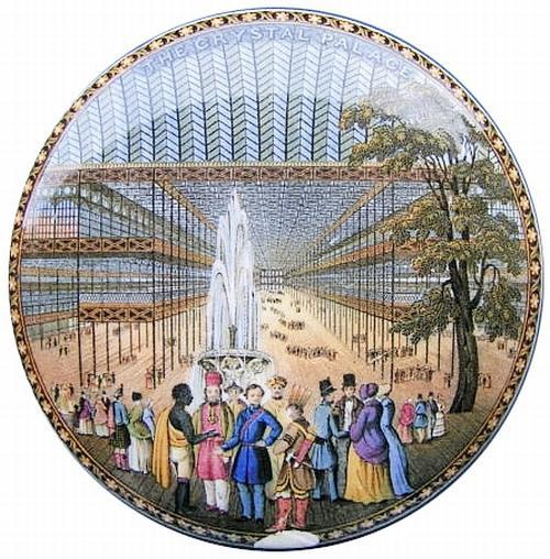 "Mayer's ""The Interior of the Grand International Building of 1851"" (Figure 2) shows the opening ceremony presided over by Queen Victoria, Prince Albert and the Archbishop of Canterbury."