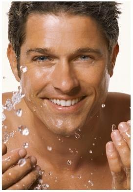 MKMen Skin Care For Men Daily Facial Wash: Washes away grit and grime. Visibly reduces excess oil. Helps prepare skin for shaving. Pores feel deepdown clean. Leaves skin feeling energized.