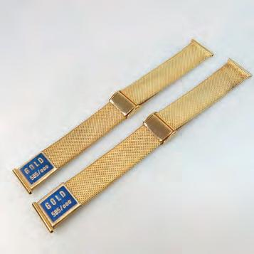 YELLOW GOLD WATCH STRAPS 55.