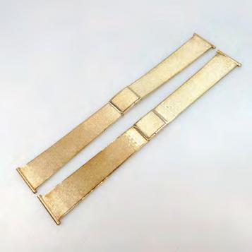14K YELLOW GOLD WATCH STRAPS 96.
