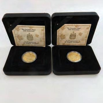 COINS 1990 $1,200 1,500 12 TWO AMERICAN GOLD COINS a