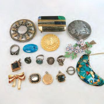 Birks Eterna-matic, etc; $150 250 21 QUANTITY OF COSTUME, SILVER AND GOLD-FILLED JEWELLERY