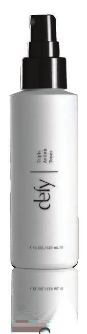 PREPARE TREAT AMPLIFY NLINE P Defy Triple Action Toner It s time to expect more from your toner.