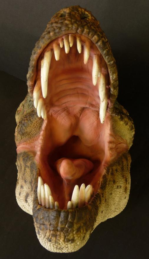 (Pic 9) (Pic 9) I airbrushed the inside of the mouth and tongue with 'Com.