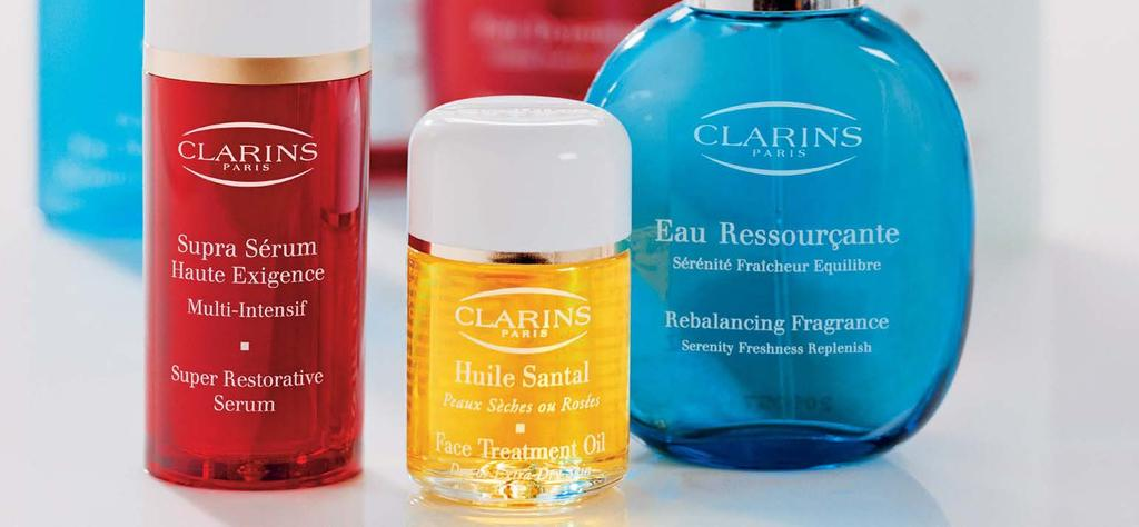 Clarins are renowned for their high quality products made from only the finest extracts and essential oils.