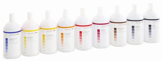 color depositing shampoos and rehydrators color defence does not contain peroxide, ammonia or color carrying