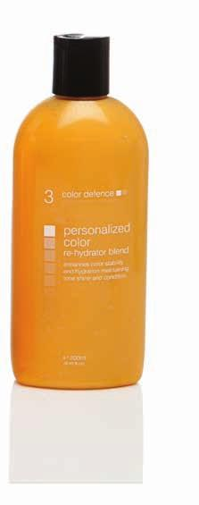color depositing rehydrators enhance color, tone and moisturise step 3.
