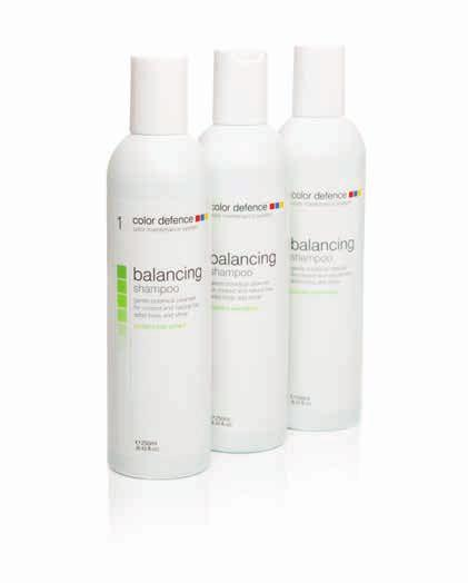 balancing shampoo cleanse and prepare step 1: cleanse and prepare gentle botanical cleanser for colored and natural hair, adds body & shine the essential first step in the color maintenance system.