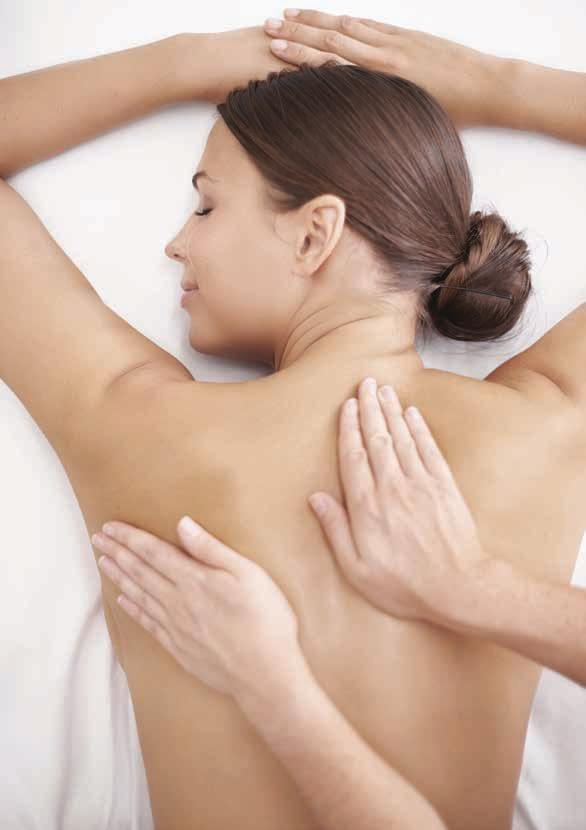 Massage Therapy Tame tension, relax the nervous system and leave with peace of mind.
