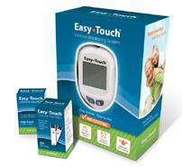 00 14-809050 Easy Touch HealthPro Glucose Test Strips 50 strips/bx $10.