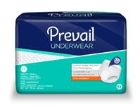 15 10-PF014 X-Large (59 to 64 ) 15/pk $12.15 Prevail Extra Absorbancy Underwear Does more by improving efficiency, reducing odors and promoting skin health.
