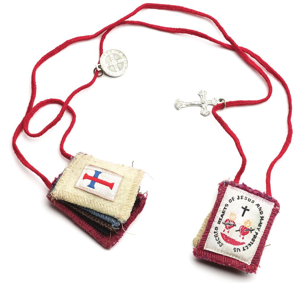 Mom s Scapular She was the most devout Catholic in the South, a single mother who worked three jobs and double-shifts.