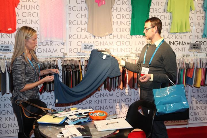Attendee Survey Feedback*: 85% Of attendees found the product(s) they were looking for on the show floor Attendees Primary Methods of Sourcing Fabrics: Tradeshows 30.