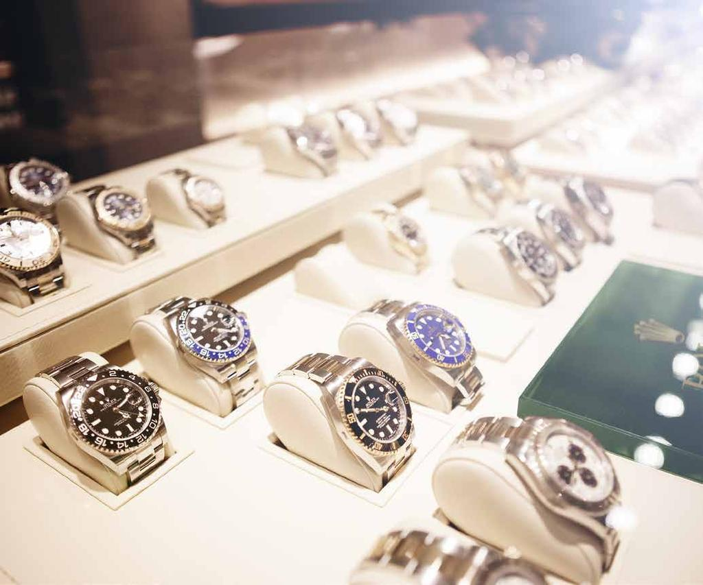 THE LARGEST SELECTION OF ROLEX WATCHES ANYWHERE Bucherer stocks the complete Rolex range, which makes the selection unique.