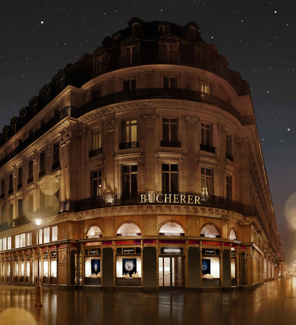 EXCEPTIONAL FLAGSHIP STORES All Bucherer stores can be found in prime