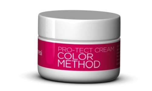 HAIRCOLOR - COLOR METHOD PRO-TECT CREAM Anti-stain Barrier Cream. It protects even the most sensitive skin and prevents the color from staining the skin.