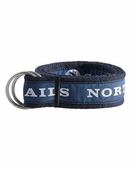 BELT TOM Inspired by the taping used on North Sails boats, this canvas belt is water resistant and made for wearing at sea.