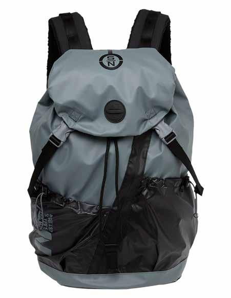 BAG BACKPACK A combination of