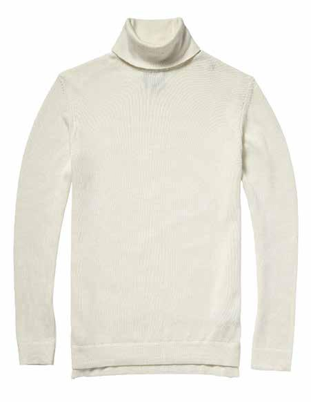 KNIT TURTLE NECK This cotton cashmere blended turtleneck is true luxury meets functionality, done the North Sails way of course.