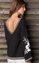 EMBROIDERED SLEEVES $68 wholesale /