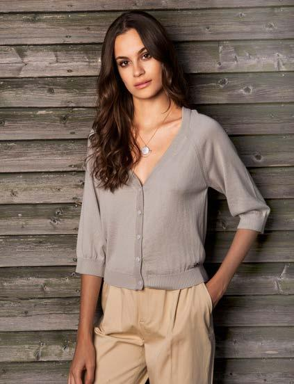 Khaki(11) S, M S18031 CROP CARDIGAN $41 wholesale / $89