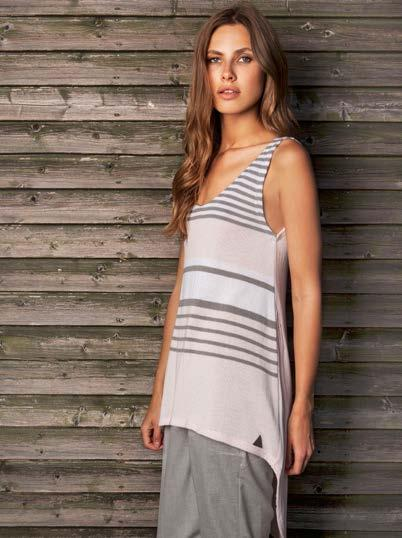 S18044 FRONT STRIPED HIGH-LOW TANK $49 wholesale / $109 sugg.