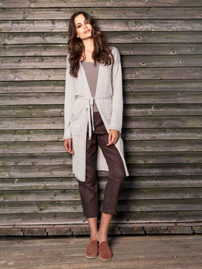 S18051 BELTED LUREX CARDIGAN $68 wholesale / $149 sugg.