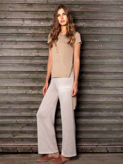 S18009 (Pants) + S18013 (Blouse) LUREX PANTS $59 wholesale