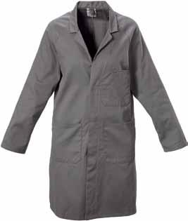 Y06050 FOUNDATIONS POLY COTTON DUSTCOAT 220gsm, 65% polyester 35% cotton fabric Raglan sleeves Metal press-stud closure Two