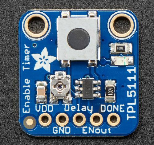 Adafruit TPL5111 Reset Enable Timer Breakout Created