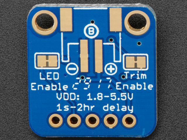 There is also an 'active' LED in the top right. This will let you know when the ENout pin is powered.