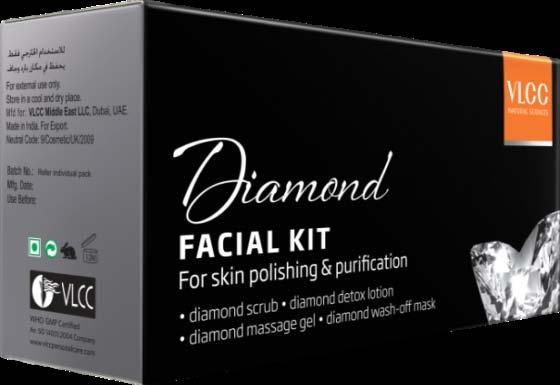 Net Content : 40mg Gold Facial Kit