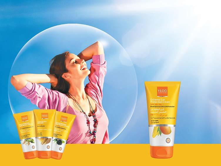 VLCC Sun Care Range Embrace the Sun