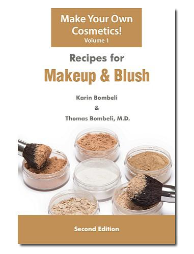 BOOKS RECIPES FOR MAKEUP & BLUSH (VOL. 1) BOK-MKBL-01 Description: Contains 39 great recipes for making professional, natural foundations, makeup and blush.