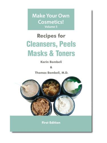 You ll also find chapters about getting the right equipment, and using colors and preservatives. $13.90 RECIPES FOR CLEANSERS, PEELS, MASKS & TONERS (VOL.