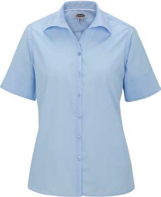 soft collar, narrow placket, two back darts, side vents 65%