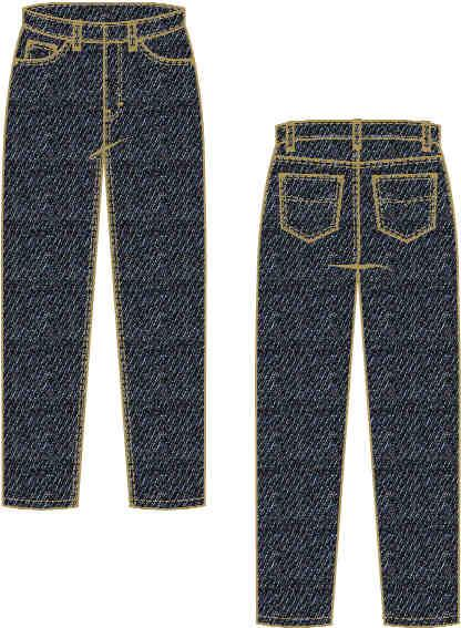 LADIES FR JEAN X774LAM14 Ladies Carpenter Jean 14 oz.